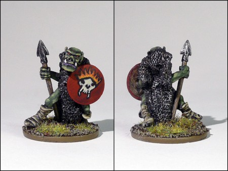Shield Bearer, C15 Orc by the Perry twins (1985)